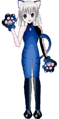 catwoman, girl, person, costume, carnival, anime