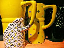 ceramic, cups, dishes, mug, beverage, pottery, kitchen