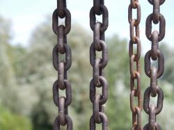chain, chains, metal, stainless, links of the chain