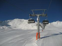 chairlift, lift, sölden, winter, winter sports, alpine