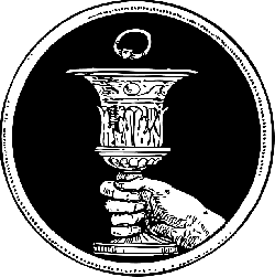 chalice, ring, wedding, marriage, hand, coin, symbol