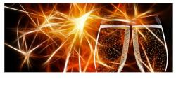 champagne glasses, abut, greeting card, champagne, cup