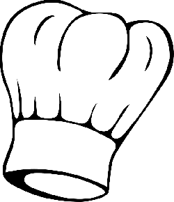 chef's hat, head, food, toque, chef, clothing, hat