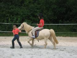 children, ride, pony, horse, coupling