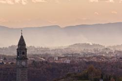 church, ivrea, piemonte, tower of the church