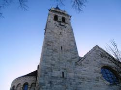 church, steeple, architecture, clock tower