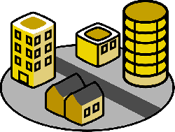 city, flat, icon, town, apartment