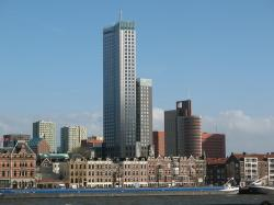 city, rotterdam, the netherlands, ship, architecture
