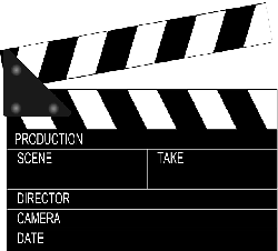 clapperboard, clapper, clapboard, slate, sticks, board