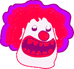 clown, horror, teeth, circus