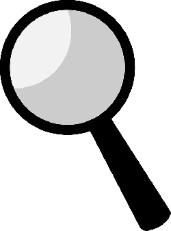 clues, detective, find, glass, looking, magnify