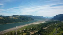 columbia river gorge, oregon, landscape, nature, water