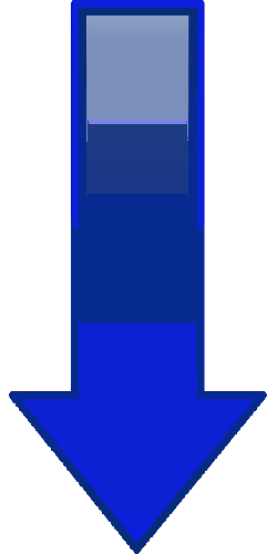 computer, blue, arrow, cartoon, shapes, down, buttons