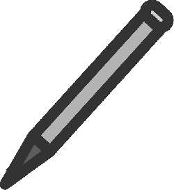 computer, flat, pencil, symbol, theme, action, icon