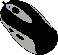 computer, mouse, black, electronics, pointing, grey