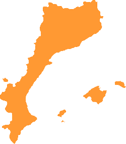country, flat, icon, geography, map, silhouette, orange