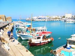 crete, island of crete, greece, boats, vacation, port