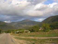 crimea, landscape, scenic, mountains, sky, clouds