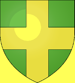 cross, shield, pour, coat, arms, mod, point