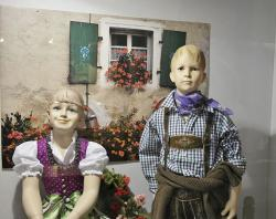 decoration, window, children, clothing, boy, girl