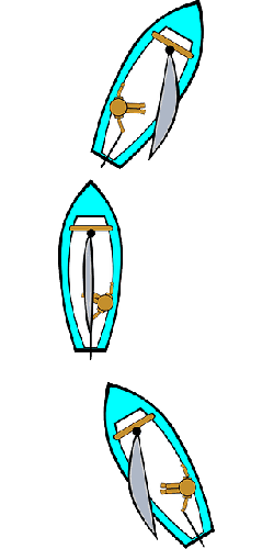 diagram, sailing, transportation, boating, tack