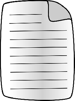 document, page, text, paper, empty, blank, lines