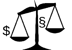 dollar, justice, law, measurement, balance, money