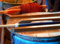 dyeing, color, factory, wool, fabric, textiles