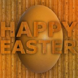easter, an, easter greeting wood, grain, structure
