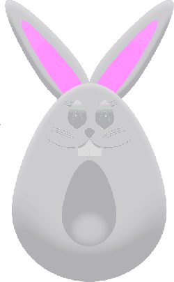 easter bunny, rabbit, cute, easter, egg, funny, kids