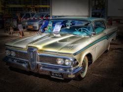 edsel, car, vehicle, 1959, automobile, classic, vintage