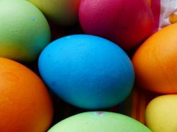 egg, colorful, easter eggs, easter, an, paint, color