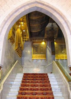 egypt, mena house, stairway, inside, interior