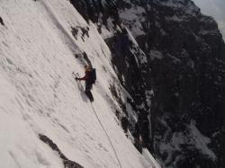eiger, north wall, climb, traverse of the gods