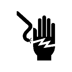 electricity, hand, electrical wire, warning, danger