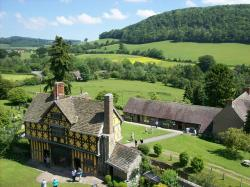 england, great britain, stokesay, castle, historical