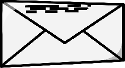 envelope, mail, office, closed, postal, letter