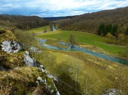 eselsburg valley, brenz, river, water, valley