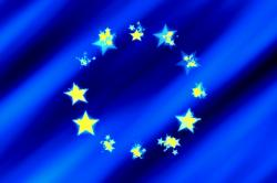 europe, flag, star, blue, european, development