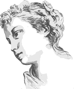 face, woman, expression, historic, female, ancient