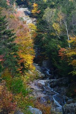 fall, waterfall, new hampshire, nature, country, water