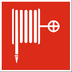 fire hose, fire-extinguisher, red, sign, symbol, icon