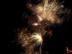 firework, night, light, dark, bonfire, thanksgiving