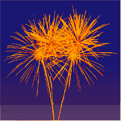 firework, rockets, sylvester, explosion, colorful, sky