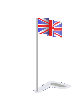 flag, cartoon, british, great, britain, united, kingdom