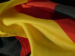 flag, germany, rumpled, black, red, gold