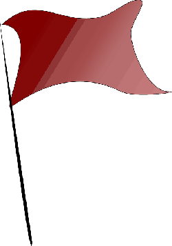 flag, red, simple