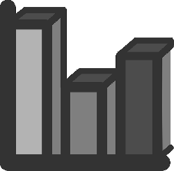 flat, bar, statistics, bars, chart, graph, icon