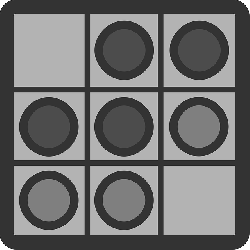flat, board, game, checkers, theme, icon, checkered