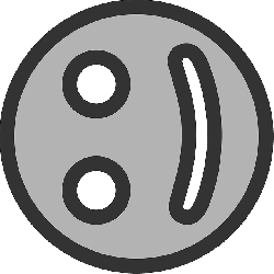flat, happy, face, theme, action, icon